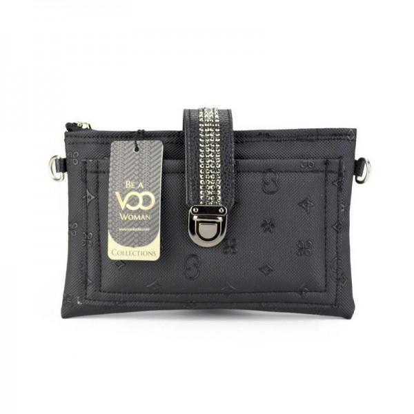 Siyah Mini Çapraz Çanta
