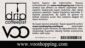 Voo Drip Coffe Kuponu